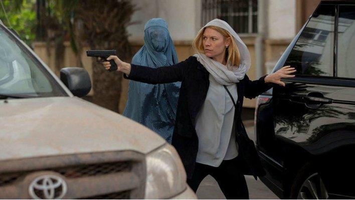 Claire Danes em Homeland