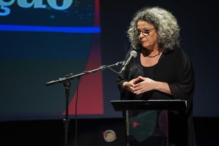 A diretora do Goiânia Mostra Curtas Maria Abdalla