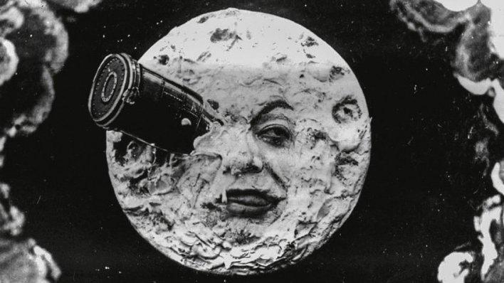 Festival 125 Anos de Cinema do Telecine: Viagem à Lua, de George Méliès.