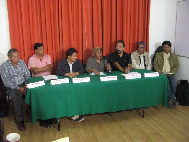 El Frente Indígena y Campesino de México convoca a movilizaciones en defensa del agua y el territorio