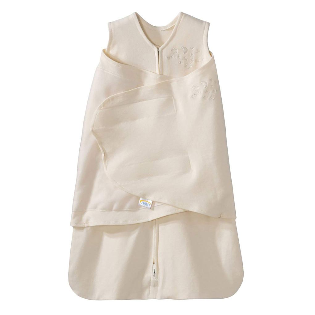 white halo sleep sack for newborn winter sleeping