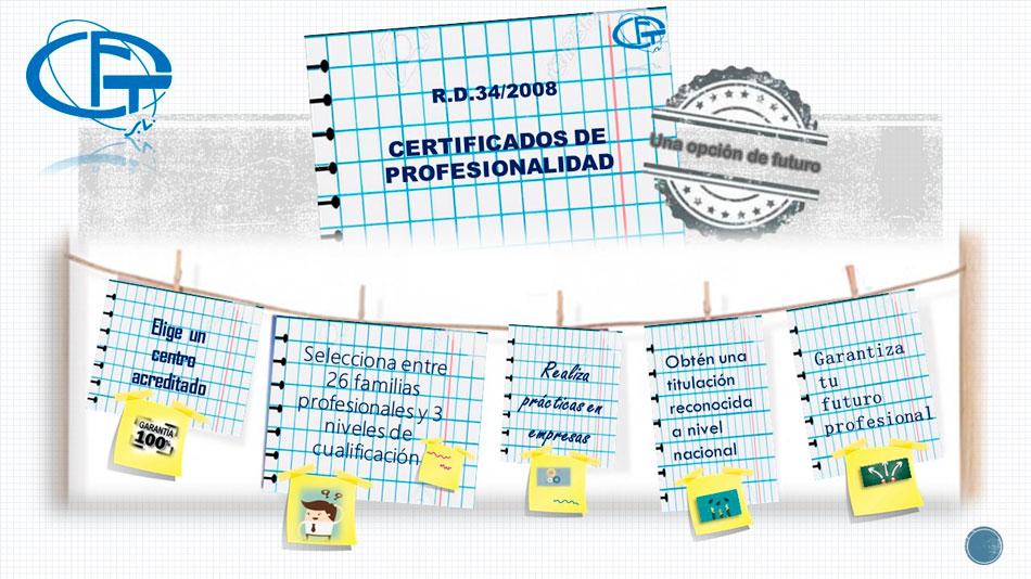 Los Certificados de Profesionalidad: Obtén una cualificación para trabajar
