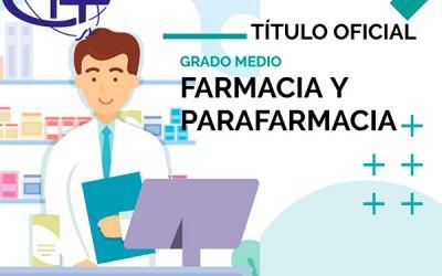 F.P. Técnico en Farmacia y Parafarmacia: una profesión de futuro. Matricúlate y obtén un Título Oficial.