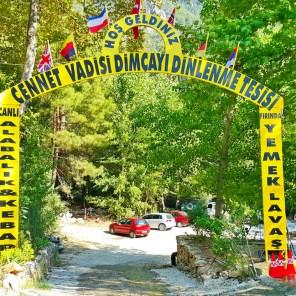 Dimçayı Alanya Cennet Vadisi Restaurant Doğal Güzellikler (21)