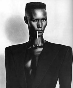 "Grace Jones as May Day in ""A View to a Kill"""