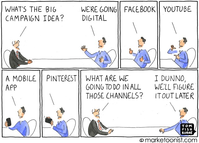 Going Digital Strategy by Tom Fishburne