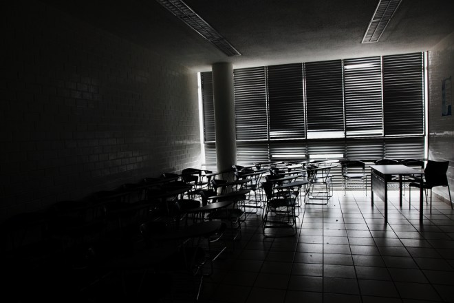 Dark classroom, light minds