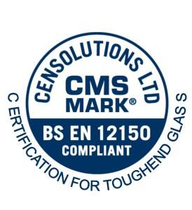 CMS Mark, BS EN 12150, certification for toughened glass