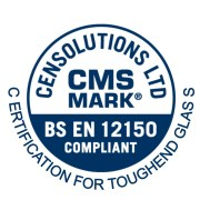CMS Mark, BS EN 12150, certification for toughened glass