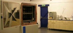 Our testing laboratory in Penkridge, Stafford