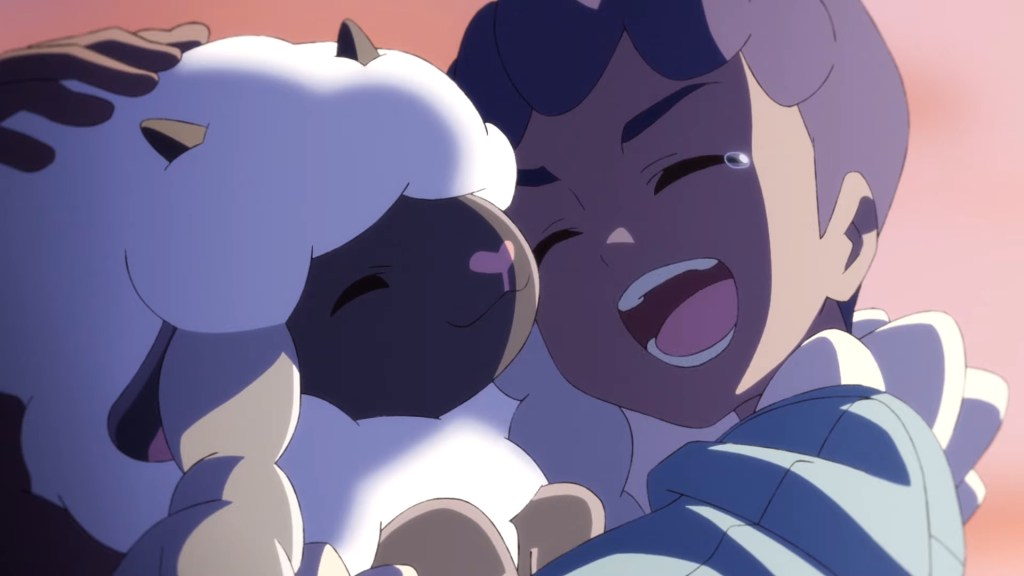 Hop and Wooloo from Pokémon: Twilight Wings