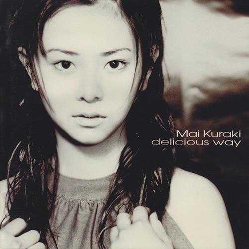 "Album art of Mai Kuraki's debut album, ""Delicious Way""."