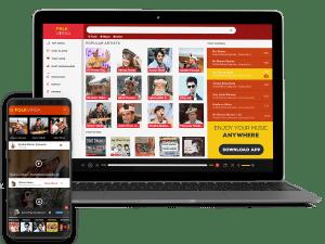 FolkVirsa music streaming website