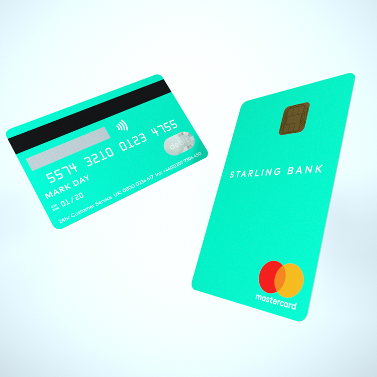 Online Bank Starling Introduces Vertical Bank Card