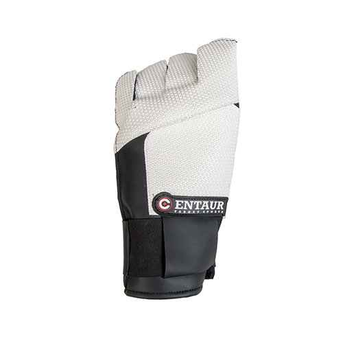 Centaur Pro F full finger ISSF compliant target shooting glove - back view - low resolution