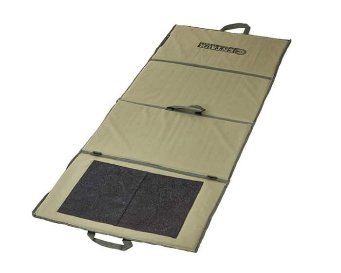 Lightweight target shooting mat unfolded - low resolution