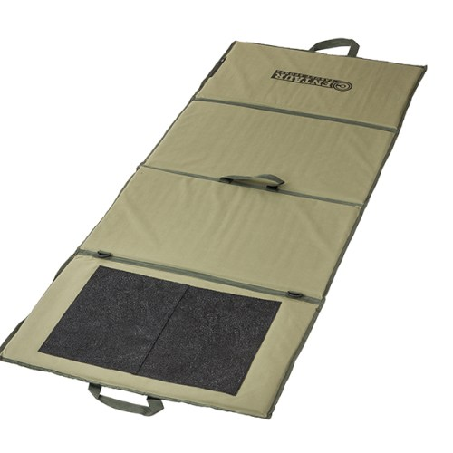 Lightweight target shooting mat unfolded - low resolution