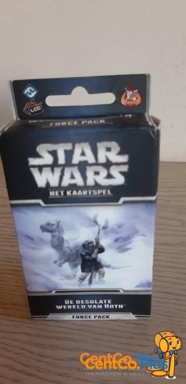 star wars het kaartspel wereld van Hoth