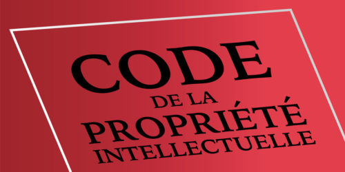 code de la proprit intellectuelle