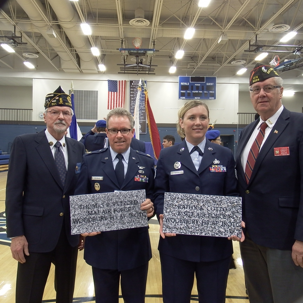 Woodbury High School Veterans Day Ceremony