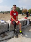 Patrick Doyle poses for a photo after completing the Terry Fox Run in Toronto. (Michael Linennen Photo)
