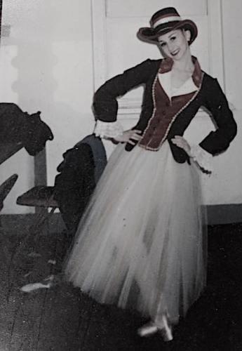 Kristin - Posing in costume
