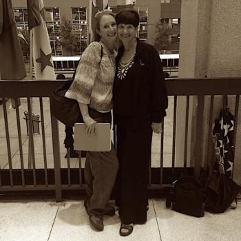 Kristin - with Mom