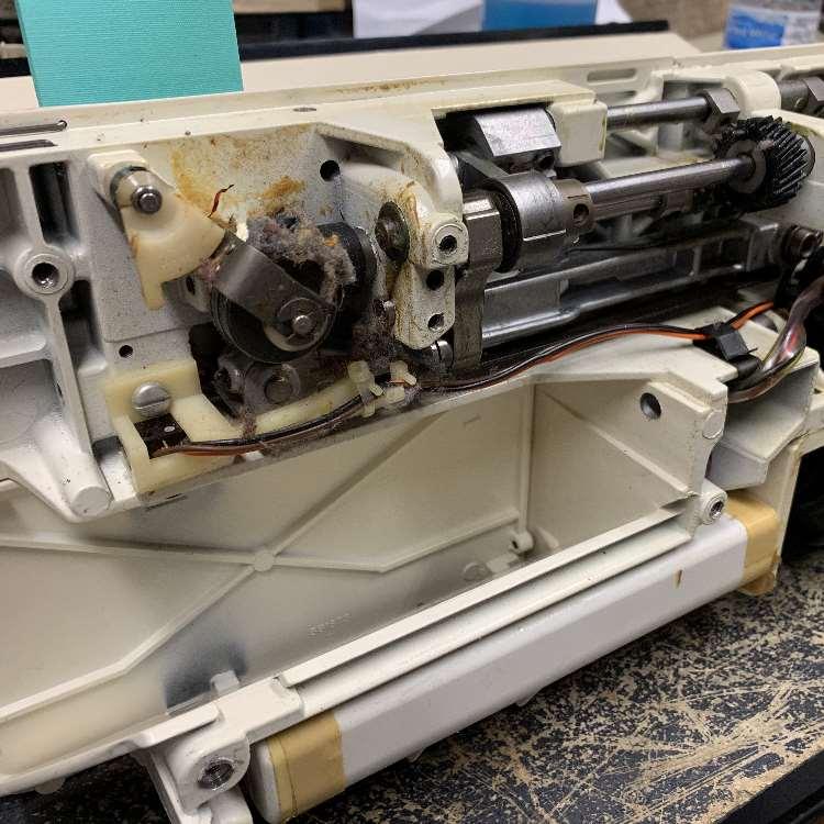 Athena 2000 sewing machine repair