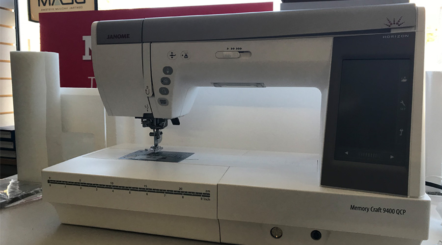 Janome Horizon Memory Craft 9400QCP Sewing, Embroidery and Quilting Machine