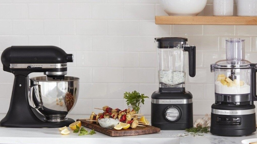 KitchenAid mixer and blender