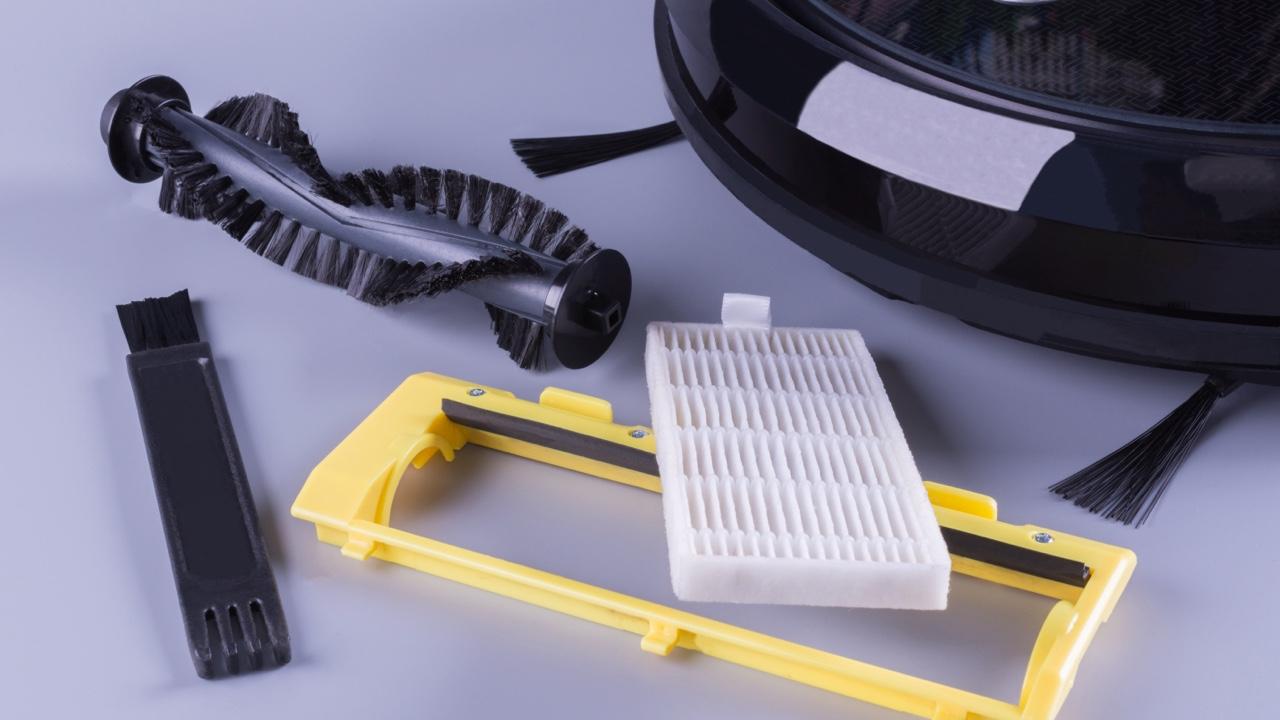 robotic vacuum parts, vacuum filer, brush roller