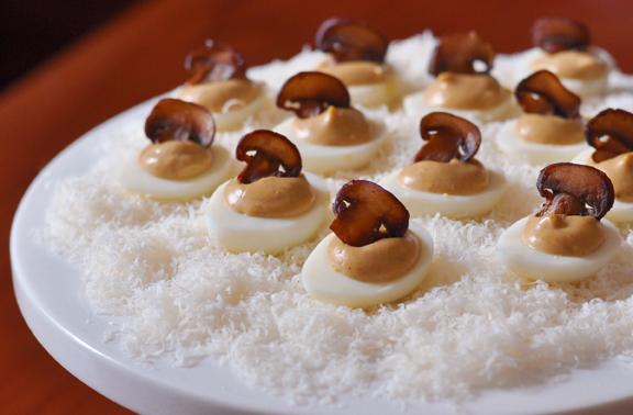 porcini eggs
