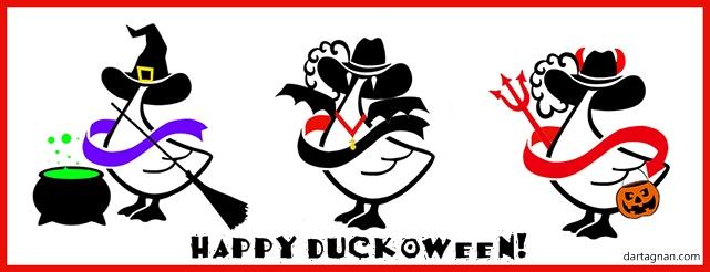 Happy Duckoween CAPT