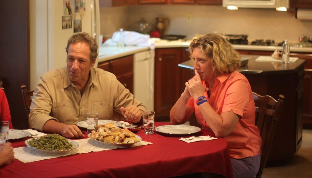Ariane & Mike Eating