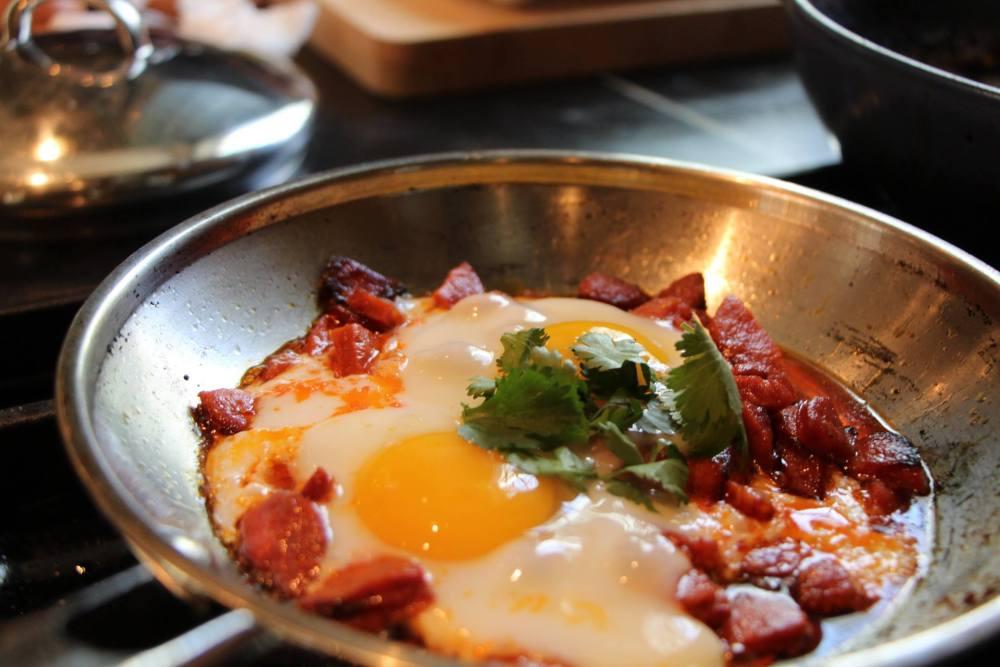 Cherie Scott Chorizo w eggs - Copy