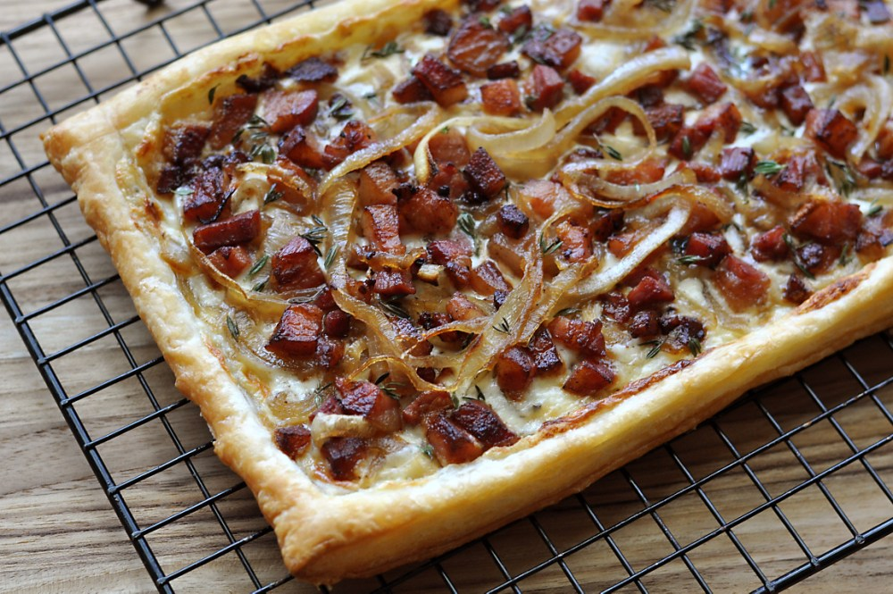 bacon-and-onion-tarte-recipe
