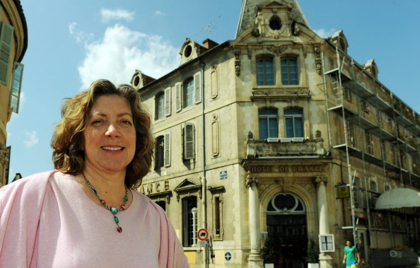Ariane returns to Auch and the Hotel de France, where she grew up. Photo: La Depeche