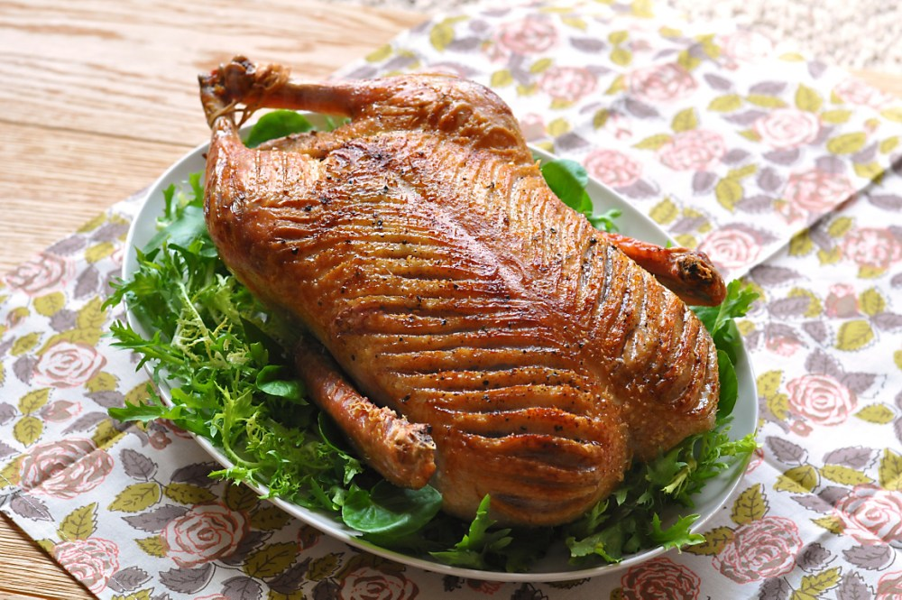 Easy Roast Duck Recipe – Center of the Plate