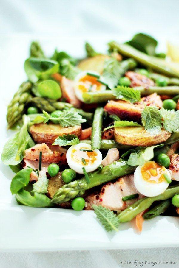 plate of joy quail egg salad.jpg