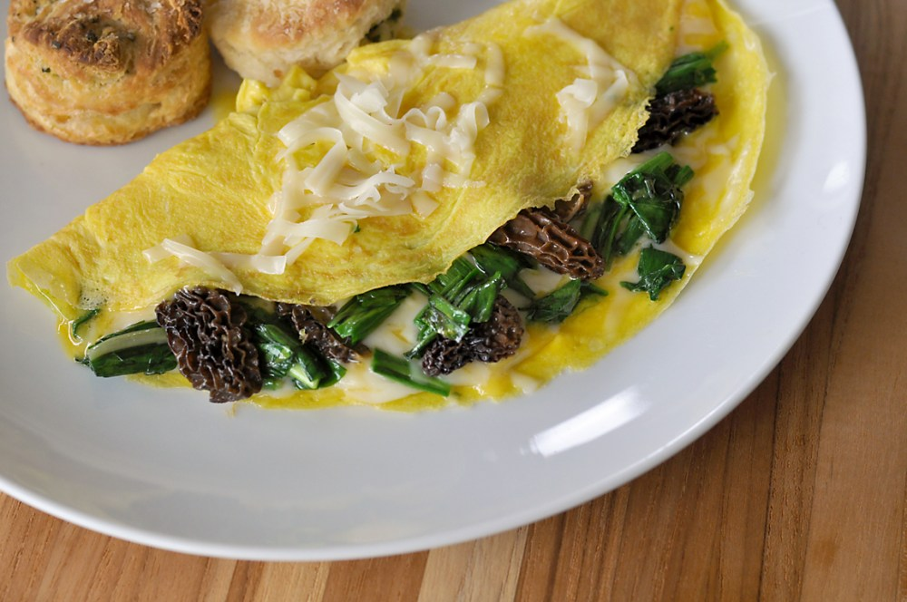 ramp-and-morel-omelette-recipe