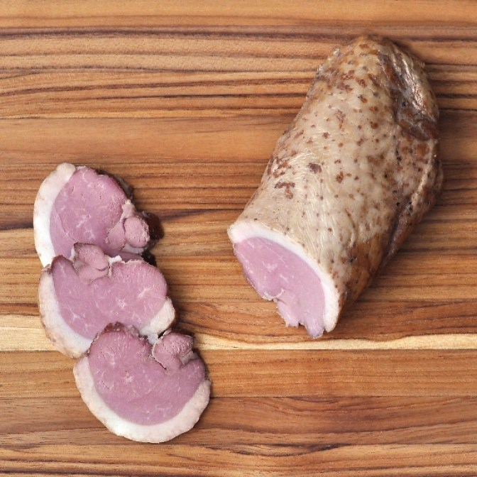 Smoked duck breast PDP