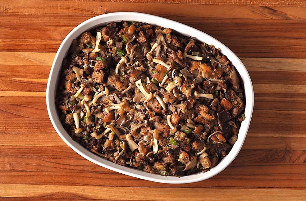 thanksgiving-mushroom-dressing-recipe