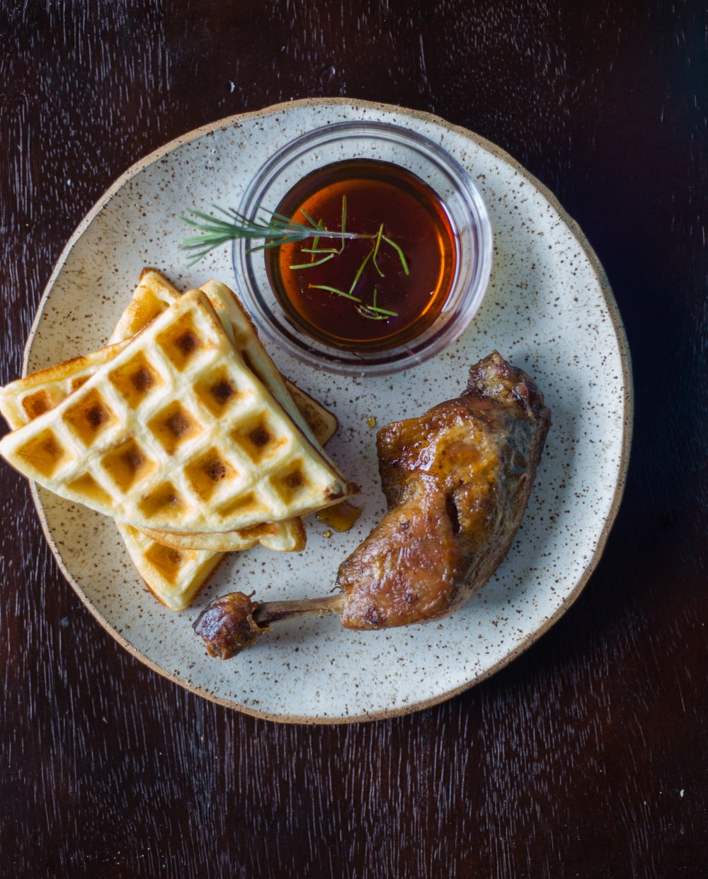 Chicken Confit and Waffles Britanny Conerly 4