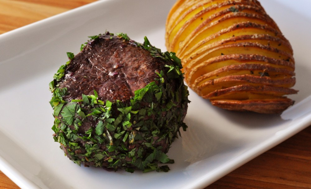 Wagyu Filet Mignon Herb Crusted