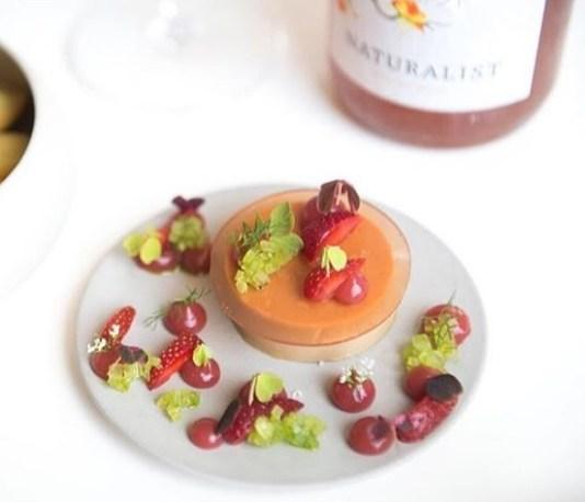 Ryan's foie gras negroni, from Bresca's Instagram