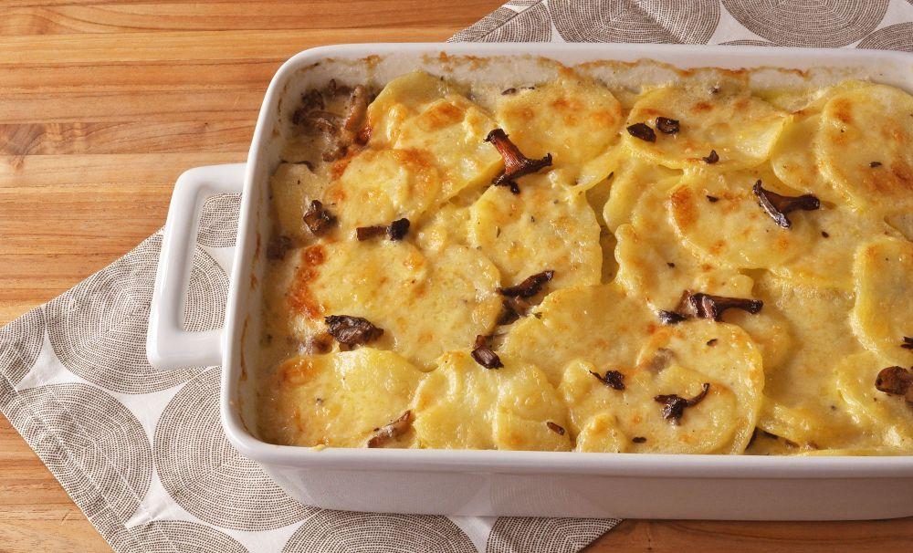 mushroom-potato-gratin-recipe