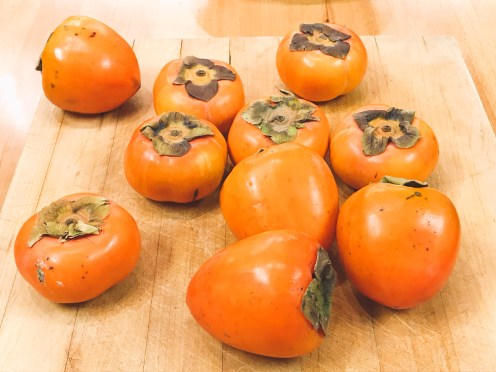 Pretty persimmons.