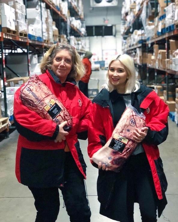 Arlyn Osbourne with Ariane in Warehouse.jpg