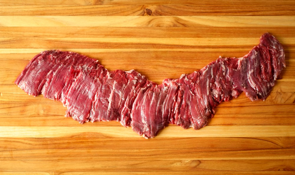 trimmed outside skirt steak whole