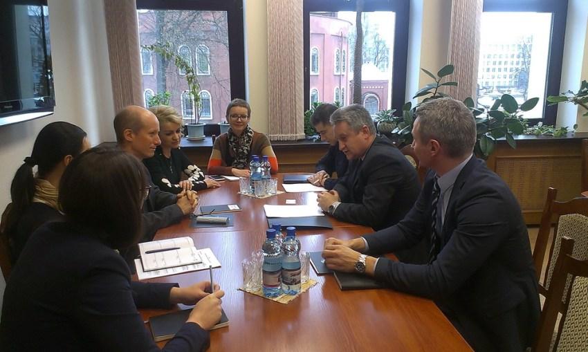 встреча с международным экспертом из Дании